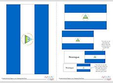 colouring book of flags central and south america blank