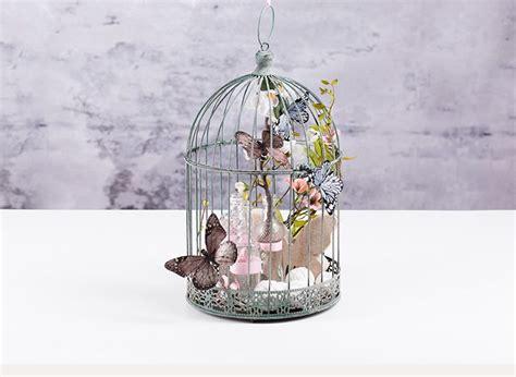 fruehlingsdeko romantischer kaefig depot de ostern kaefig fruehlingsdeko en vogelkaefig deko