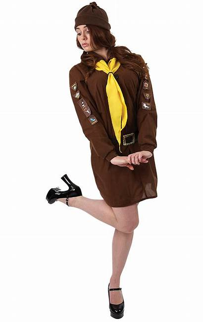 Uniform Brownie Adult Costume Fancy Scout Guide