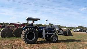Demo Video Of Long 2610 Tractor With Loader  Canopy