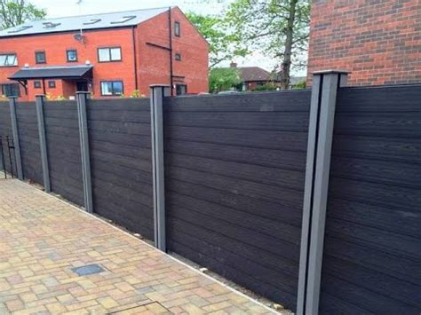 diy horizontal fence diy wood plastic fence panels cheap