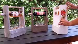 Porte Bouteille Vin : porte vin en bois de palette youtube ~ Melissatoandfro.com Idées de Décoration