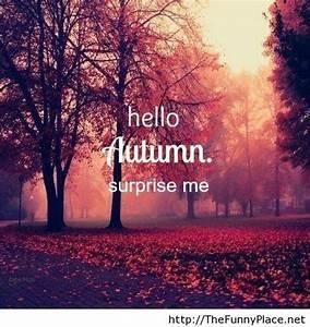 Hello Autumn Surprise Me TheFunnyPlace