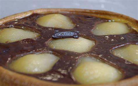 etudiant cuisine recette tarte amandine aux poires et chocolat économique