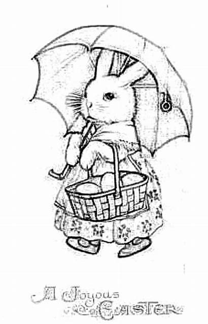 Easter Coloring Pages Bunny Adult Colouring Books