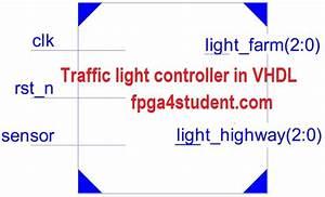 Vhdl Code For Traffic Light Controller