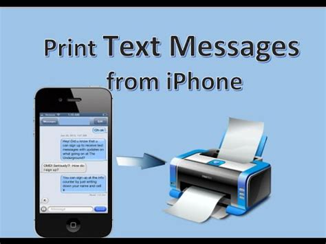 how to print from iphone free way to print text messages from iphone 7 6 6s 6s plus