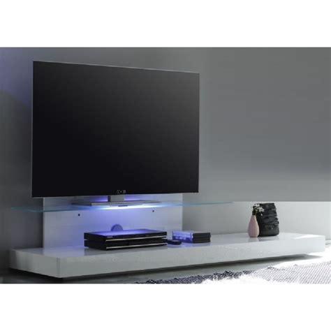 appliques murales chambre adulte base télé avec éclairage led et tablette en verre design