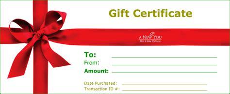 restaurant gift certificates printing print gift