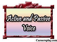 active  passive voice images active