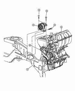2003 Dodge Caravan Support  Engine Mount  Right  Edz