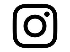 Transparent Instagram Logo Black