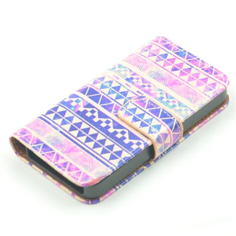iphone 4s wallet iphone 4 4s leather wallet pdair 10 free iphone 4 iphone 4s cover colourful aztec tribal