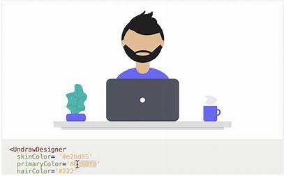 Library Illustrations Component Svg Undraw Create Sitting