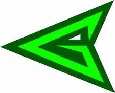 Green Arrow Emblem by van-helblaze on DeviantArt  Green Arrow Superhero Logo