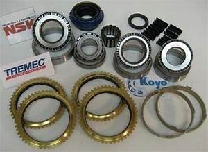 Tr3650 Transmission Rebuild Kit With Synchro Rings Fits