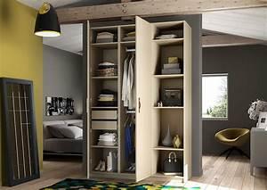 Armoire De Rangement Ikea : top armoire de chambre sur mesure un rangement harmonieux armoire chambre coucher ikea armoire ~ Teatrodelosmanantiales.com Idées de Décoration