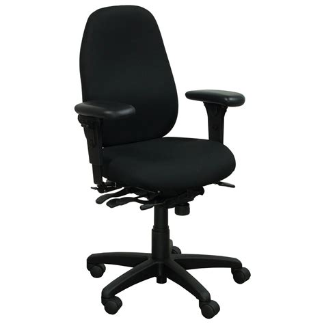 office master pt69 used task chair black national