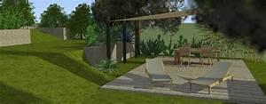 Plan de jardin 3d creation conception et amenagement de for Conception jardin 3d gratuit
