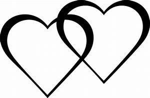 Two Hearts - ClipArt Best