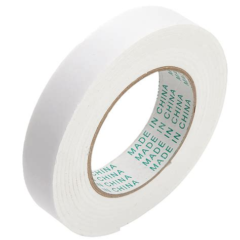 18mm 3m double sided strong self adhesive stick foam tape roll mounting fixing ebay