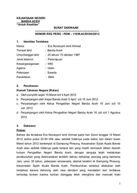 Contoh Surat Pernyataan Yayasan Tidak Dalam Sengketa - Kris Greet