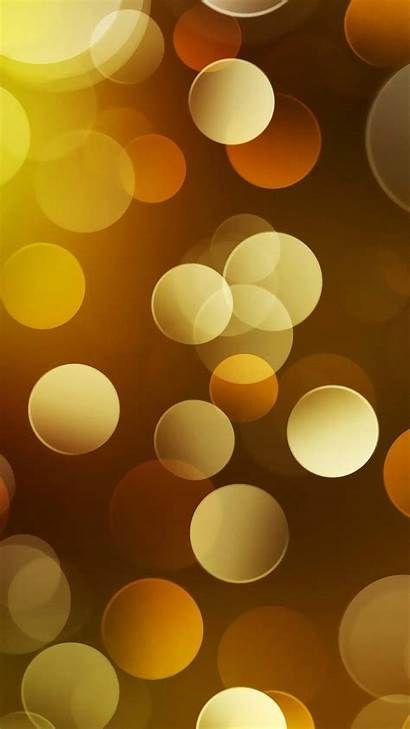 Classy Iphone Wallpapers Circles Plus Gold Leather
