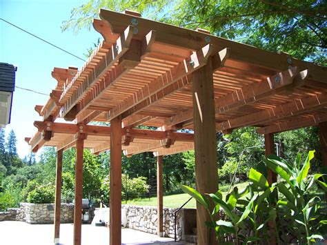 diy wood patio covers plans free
