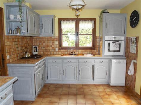 meuble de cuisine repeint meubles de cuisine relookés kréative déco