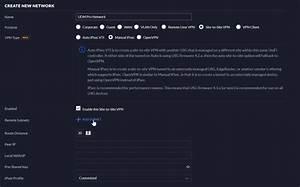 Create A Manual Ipsec Unifi Site-to-site Vpn