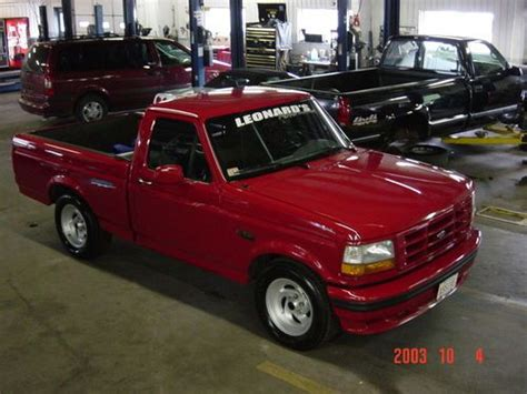 1995 Ford F150 Lightning by Sell Used 1995 Ford F 150 Lightning No Reserve In Brockton