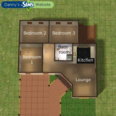 Sims 3 Floor Plans Small House by Sims On Sims 3 The Sims And Floor Plans