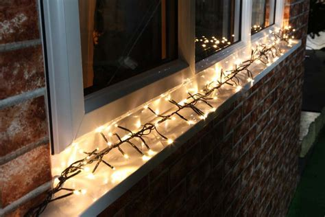 how to install lights outside festive lights
