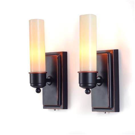 decor battery wall sconce battery sconces for the wall