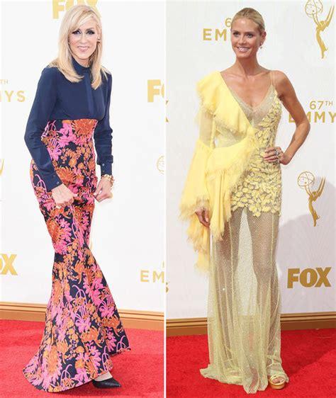 Heidi Klum Tops Worst Dressed On Emmy Awards Red Carpet