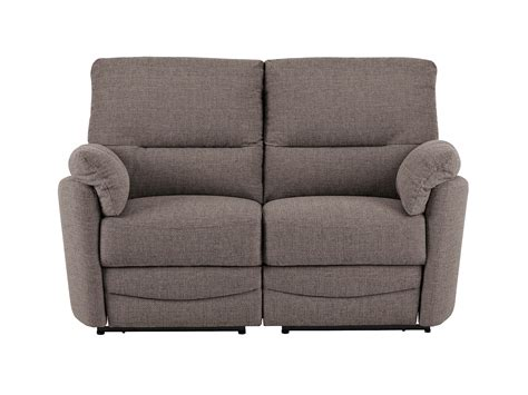 Small Loveseat Recliner by Sutton Small Sofa With Manual Recliners In Barley Taupe