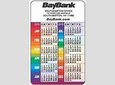 Wallet Calendars & Pocket Calendars Custom Calendars