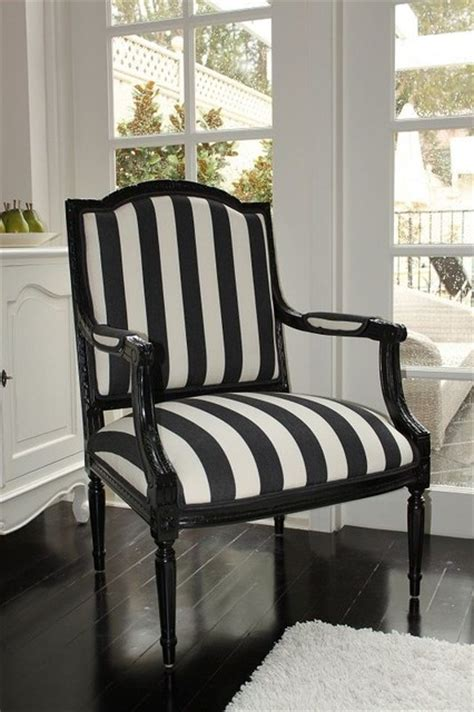 black and white stripe chair style dining