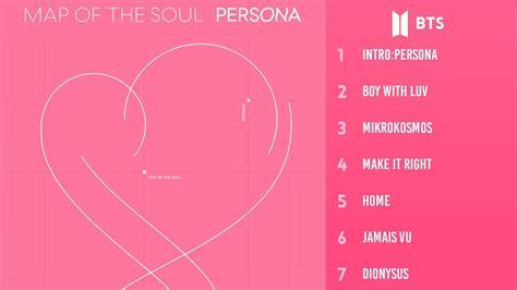 bts map   soul persona full album