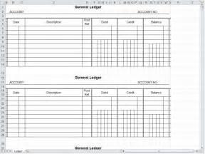 Ledger Template Excel General Ledger Spreadsheet General Ledger Excel Template