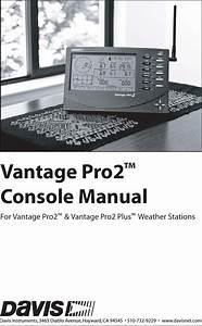 Davis Instruments Dww6312 Integrated Vantage Pro 2 Console