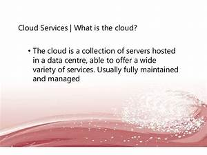 Cloud Services: Do I need a server in my business?