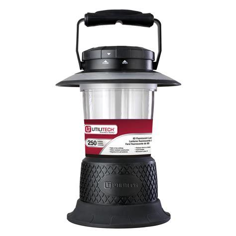 Shop Utilitech 250 Lumen Fluorescent Freestanding Battery