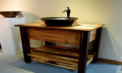 Cheap But Nice Furniture, Rustic Bathroom Vanity With