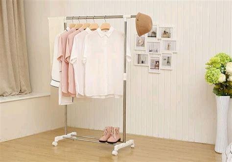 standing hanger single rak gantungan pakaian baju serbaguna grosir cirebon