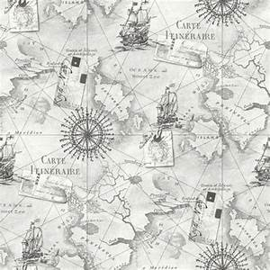 NAVIGATOR VINTAGE MAP & GLOBETROTTER MAP WALLPAPER ...