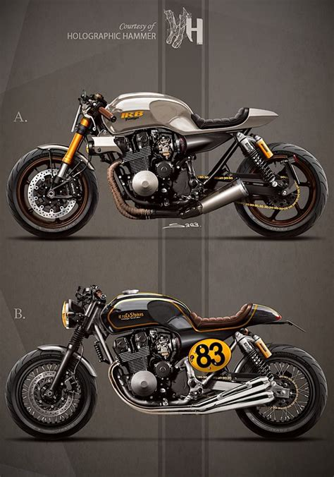 honda cb750 rc42 by holographic hammer bike sketches pinterest honda cb750 holographic