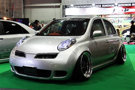 cool stanced nissan micra cars  love