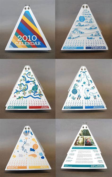 cool creative calendar design ideas   bashooka