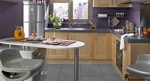 bar de cuisine inventif pratique et design bienchezmoi With lovely meuble bar pour cuisine ouverte 2 comptoir bar cuisine americaine cuisine en image